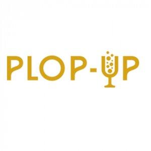 Plop-up logo