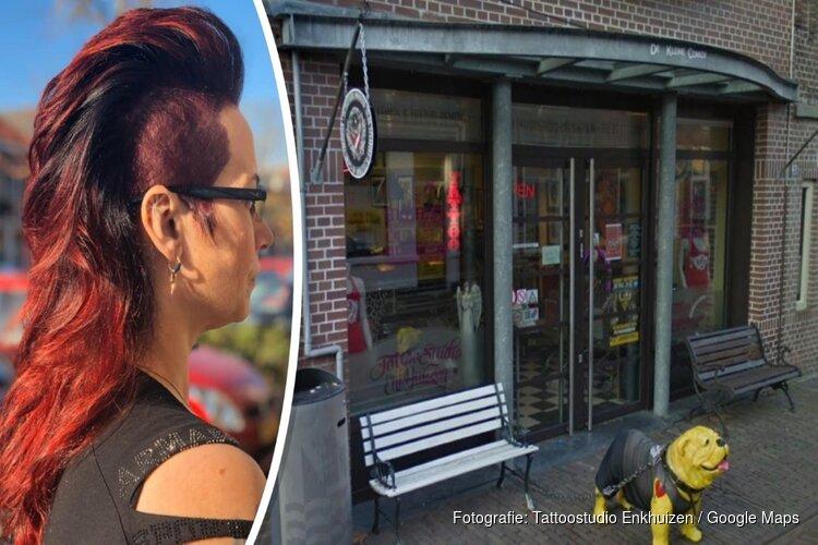 """Enkhuizense tatoeëerster maandag weer aan de slag: """"Ik ben voorzichtig blij"""""""