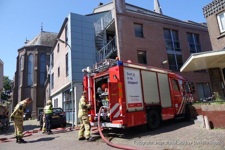 Brandje in Enkhuizen snel onder controle