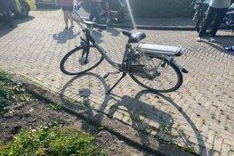 Aanrijding tussen fietsster en auto in Enkhuizen