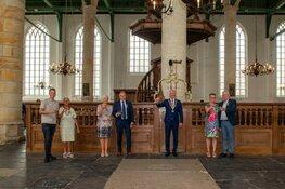 Lintjes uitgereikt in Westerkerk