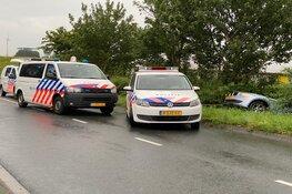 Ongeval met gestolen auto in Enkhuizen