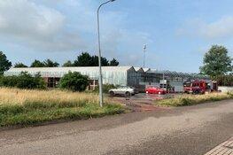 Wateroverlast bij kringloopwinkel in Enkhuizen