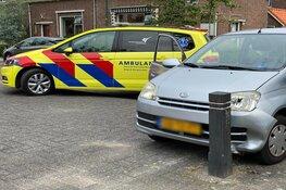 Ongeval op de Wethouder Stapelstraat in Enkhuizen