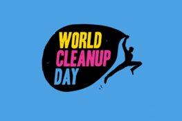 World Cleanup day in het Wilhelminaplantsoen