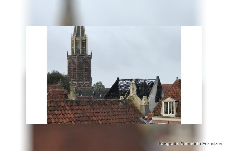 Brand in de Westerstraat