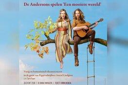 Zweeds-Nederlands theaterduo De Andersons op bezoek bij Astrid Lindgren