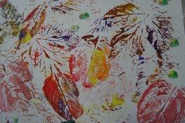 Workshop: Schilderij van herfstbladeren
