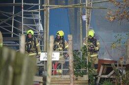 Brand in manege in Venhuizen snel onder controle
