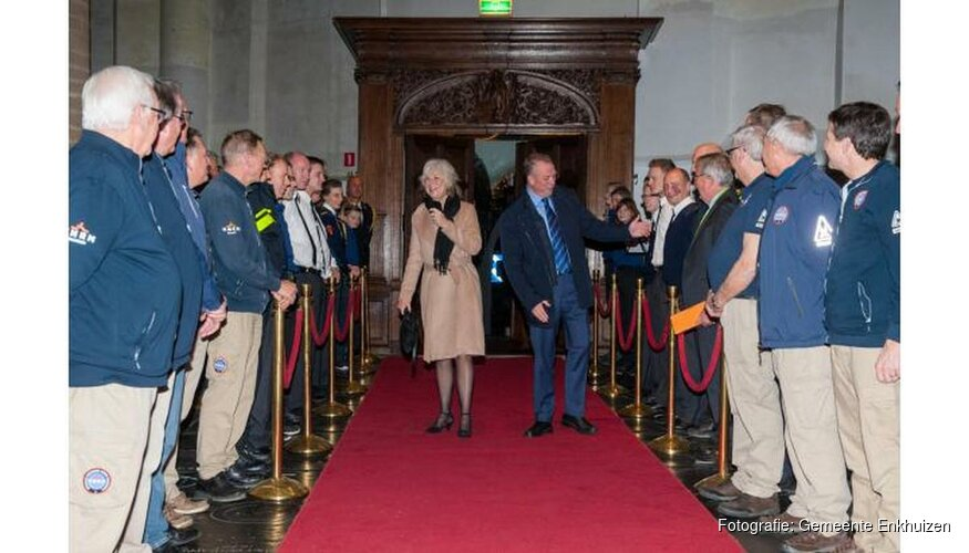 Afscheid burgemeester Jan Baas