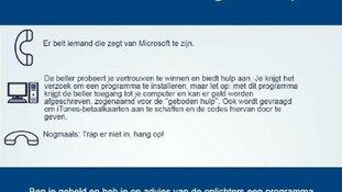 Slachtoffers voor 7 miljoen euro dupe van Microsoft-scam