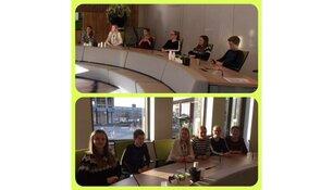 Leerlingen Martinuscollege op bezoek bij de SED organisatie