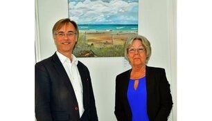 Opening expositie Marga Botman