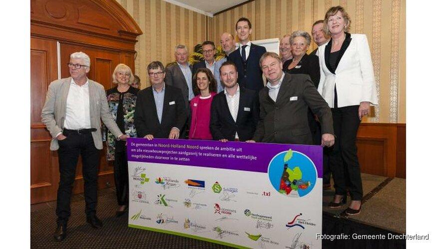 Noord Holland gaat voor aardgasvrije nieuwbouw