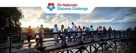 Enkhuizen loopt mee met de Nationale Diabetes Challenge!