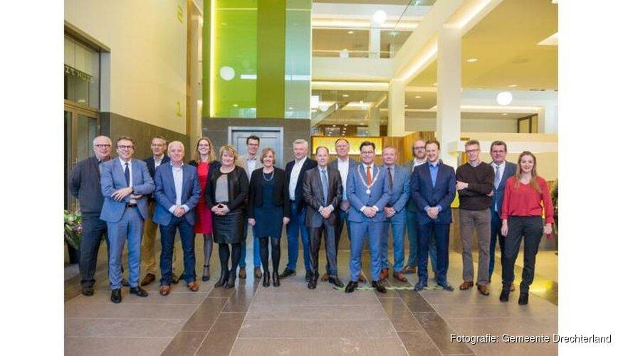 Nieuwe gemeenteraadsleden benoemd