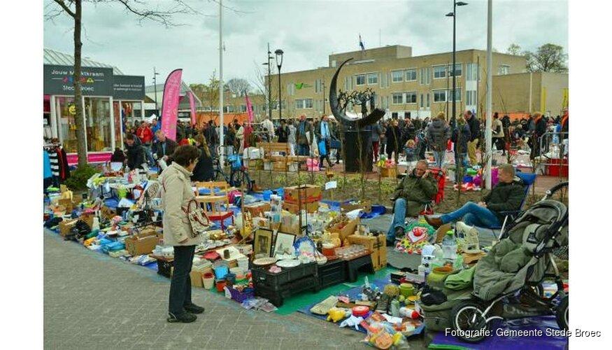 Vrijmarkt 27 april op plein Streekhof