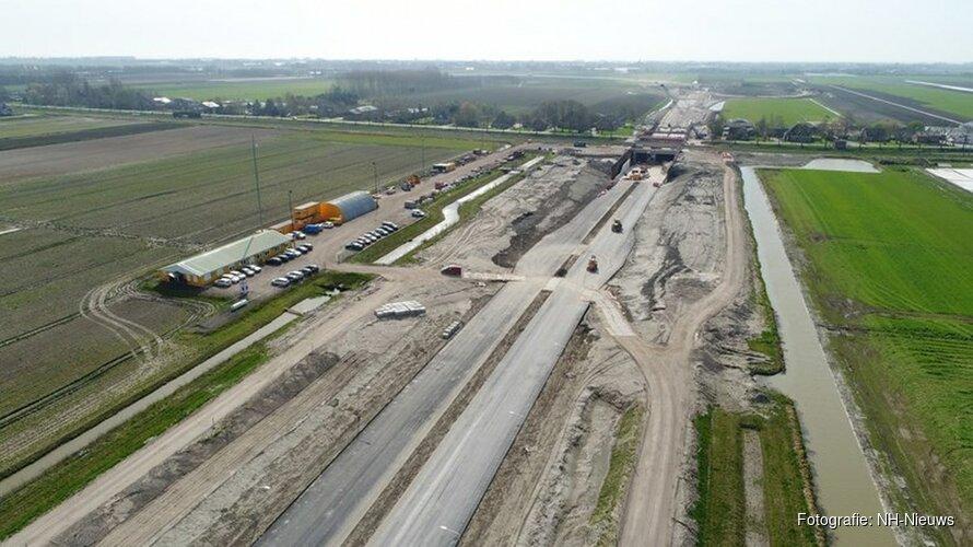 Westfrisiaweg uiterlijk 18 december open voor verkeer