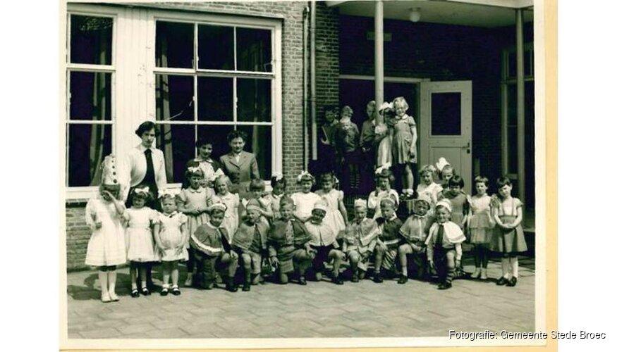 Historische Vereniging Oud Stede Broec exposeert schoolfoto's