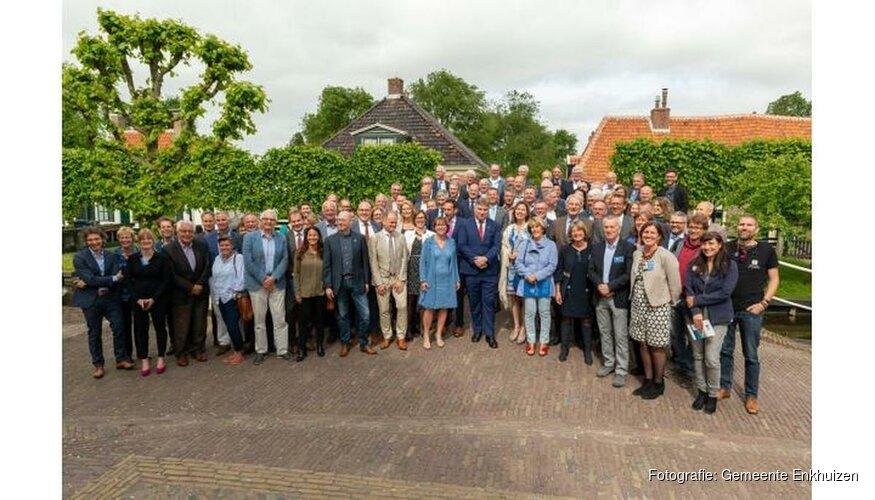 Enkhuizen tekent voor versterking IJsselmeergebied