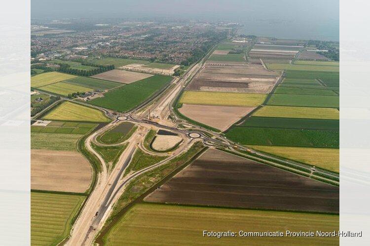 Afsluiting N506 tussen Lutjebroek en Enkhuizen