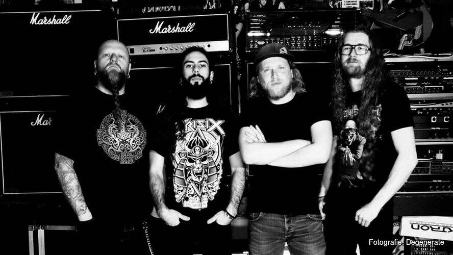 Zaterdag Whiplash Metal Meeting bij Cayen Enkhuizen
