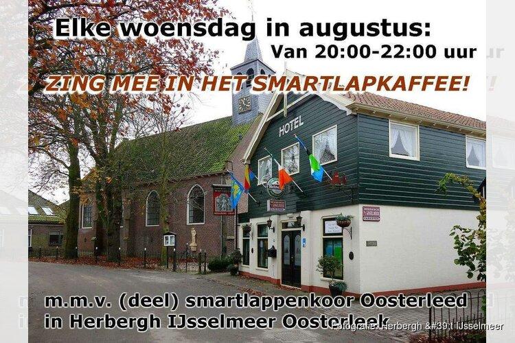 Zing mee in 't Smartlapkaffee bij Herbergh 't IJsselmeer
