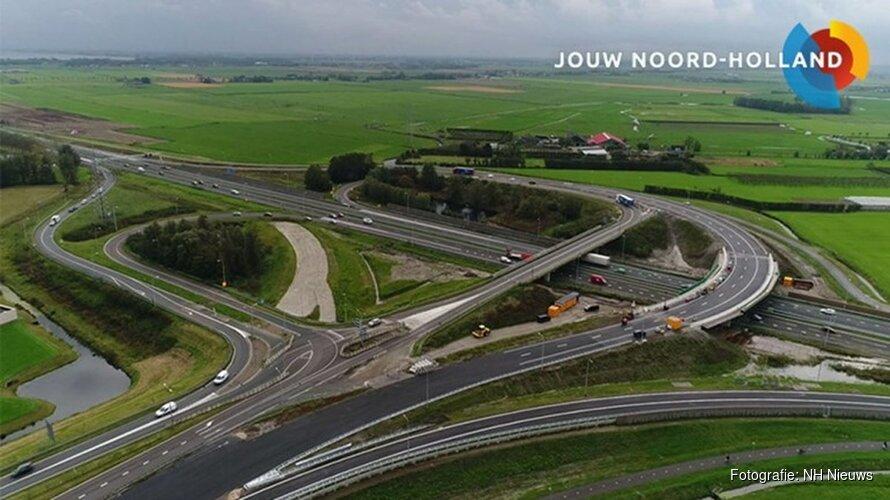 Provincie legt laatste hand aan megaproject Westfrisiaweg