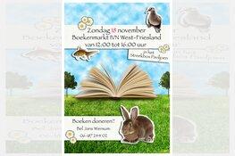 IVN Boekenmarkt op zondag 18 november