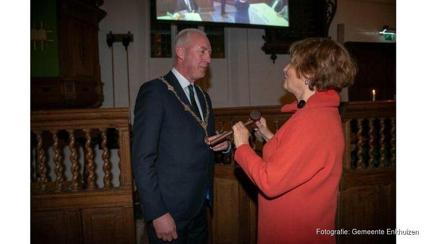 Nieuwe burgemeester Eduard van Zuijlen geïnstalleerd