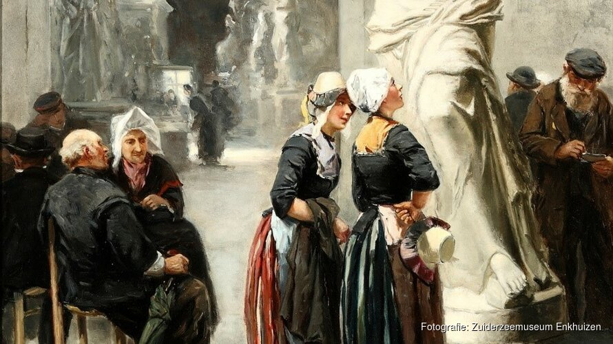 Schilderij Johannes Marius ten Kate nieuwste aanwinst in collectie Zuiderzeemuseum