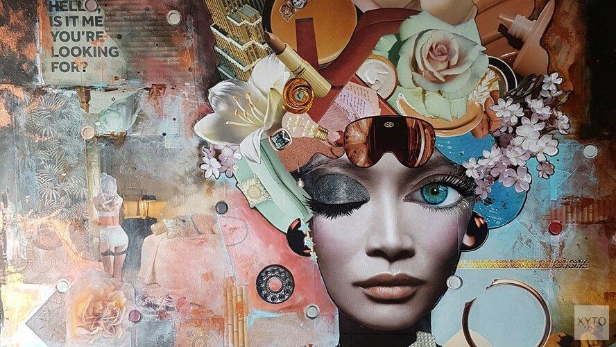 Expositie: 'Collage' bij  galerie Onopgemerkte Schatten