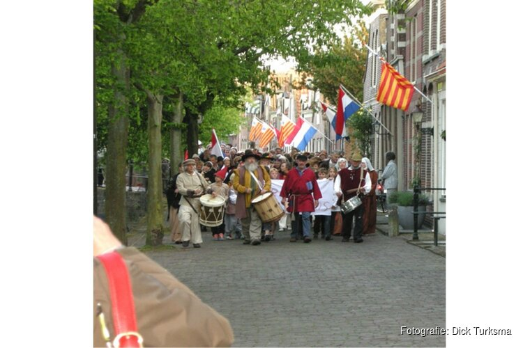 Enkhuizen viert historische opstand ende bevrijding