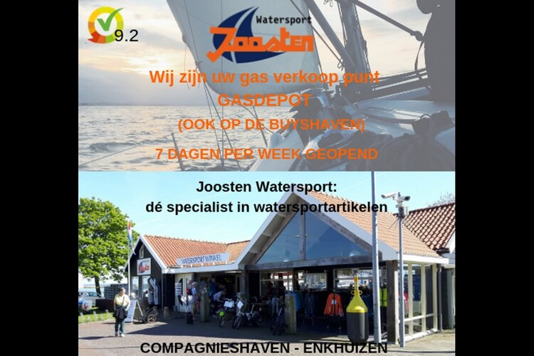 Joosten Watersport de specialist in watersportartikelen