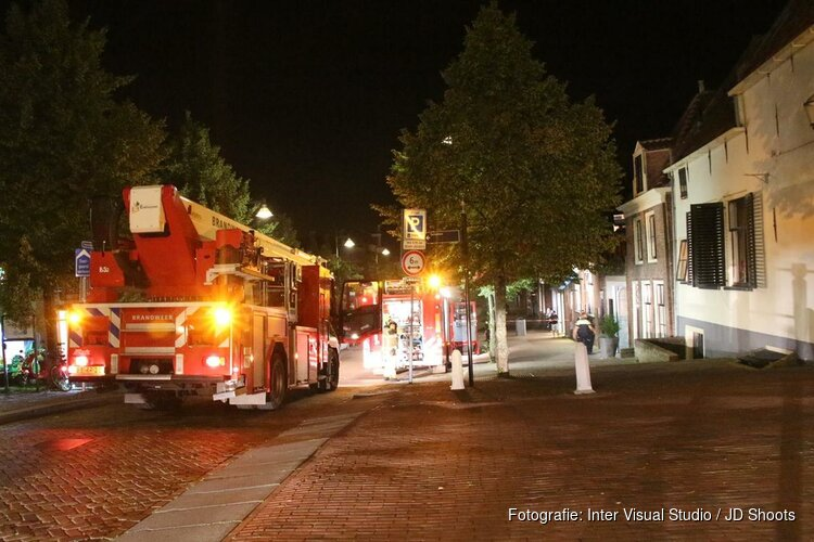 Gasten hotel in Enkhuizen geëvacueerd