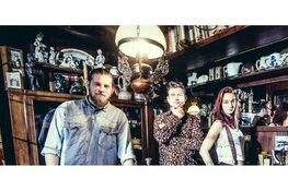 Bleus Rockband Moondaze naar Enkhuizen