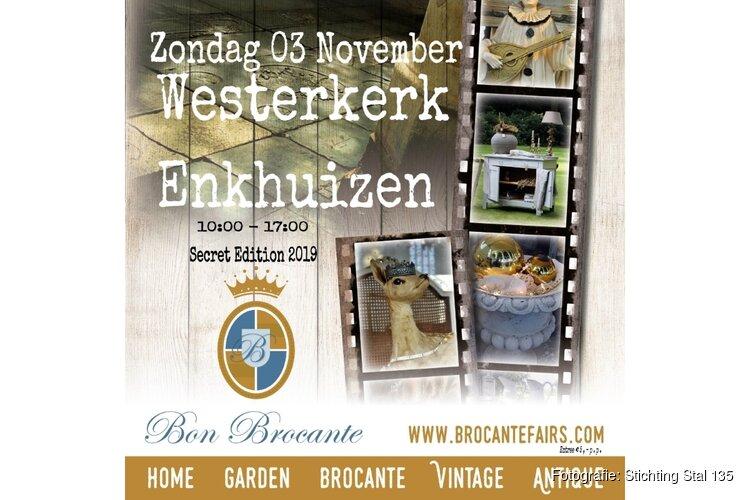 Brocante in de Westerkerk Enkhuizen