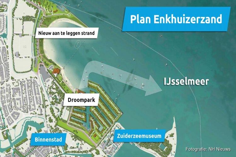 Plannen voor beeldbepalend recreatiepark Enkhuizerzand rigoureus aangepast
