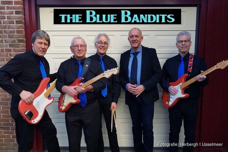 Optreden van de sixtiesband THE BLUE BANDITS op zondag 20 oktober in Oosterleek