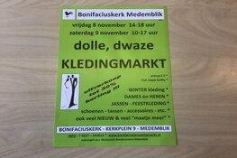 Dolle, dwaze kledingmarkt in Bonifaciuskerk Medemblik
