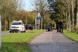 Politie-onderzoek langs De Gouw in Enkhuizen
