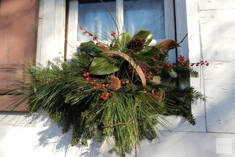 Geen witte kerst...rond de acht graden en wisselvallig