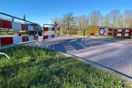 Kooizandweg Enkhuizen afgesloten op last van burgemeester
